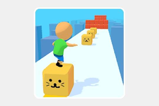 Cube Surfer!(キューブ・サーファー)のゲームアプリ画像