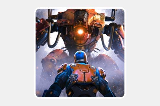Shadowgun Legends(シャドウガン レジェンド)のゲームアプリ画像