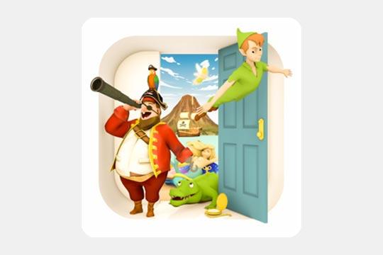 脱出ゲーム ピーターパン ~ネバーランドからの脱出~のゲームアプリ画像