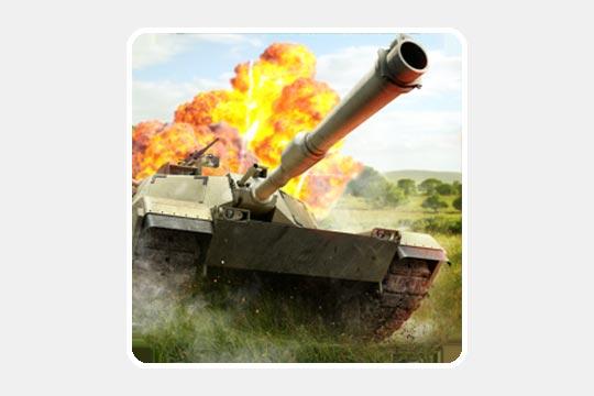 Clash of Panzerのゲームアプリ画像
