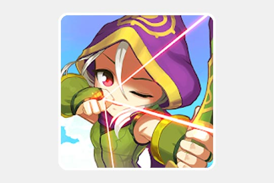 Legendary Archerのゲームアプリ画像