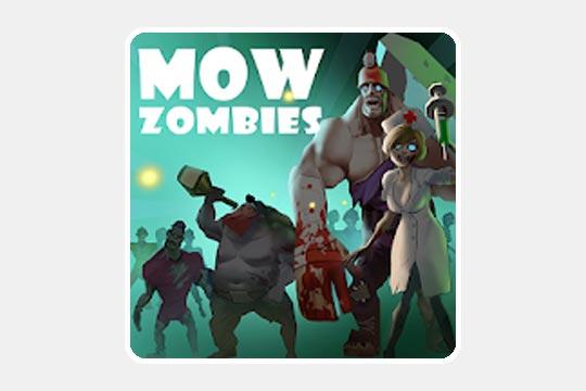 Mow Zombies(モウ・ゾンビーズ)のゲームアプリ画像