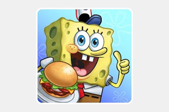 スポンジ・ボブ : カニカーニ・クックオフのゲームアプリ画像