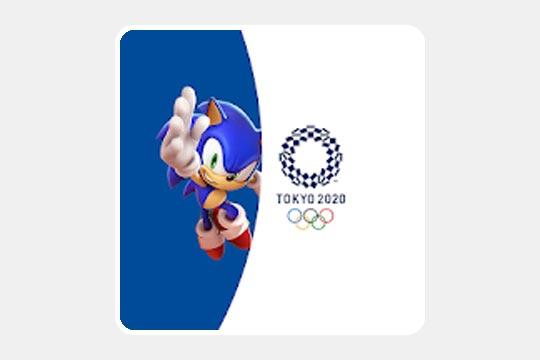 ソニック AT 東京2020オリンピックのゲームアプリ画像